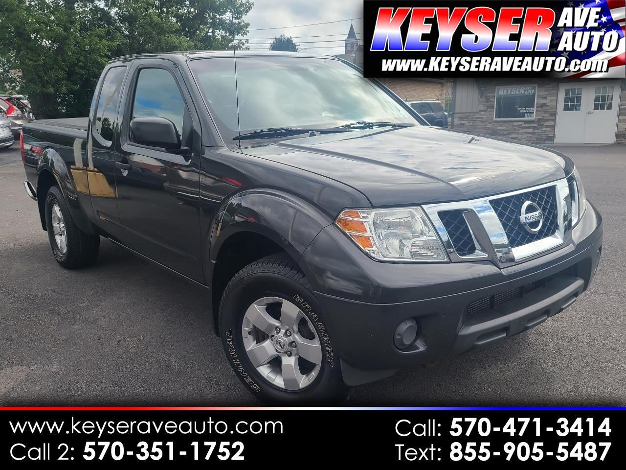 Nissan Frontier 4WD King Cab Auto SV 2012