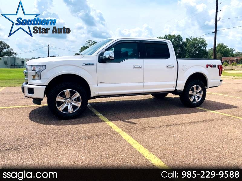 "2017 Ford F-150 4WD SuperCrew 145"" Platinum"