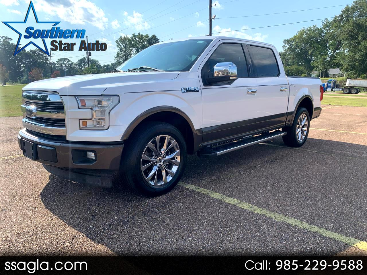 "Ford F-150 2WD SuperCrew 145"" Lariat 2017"