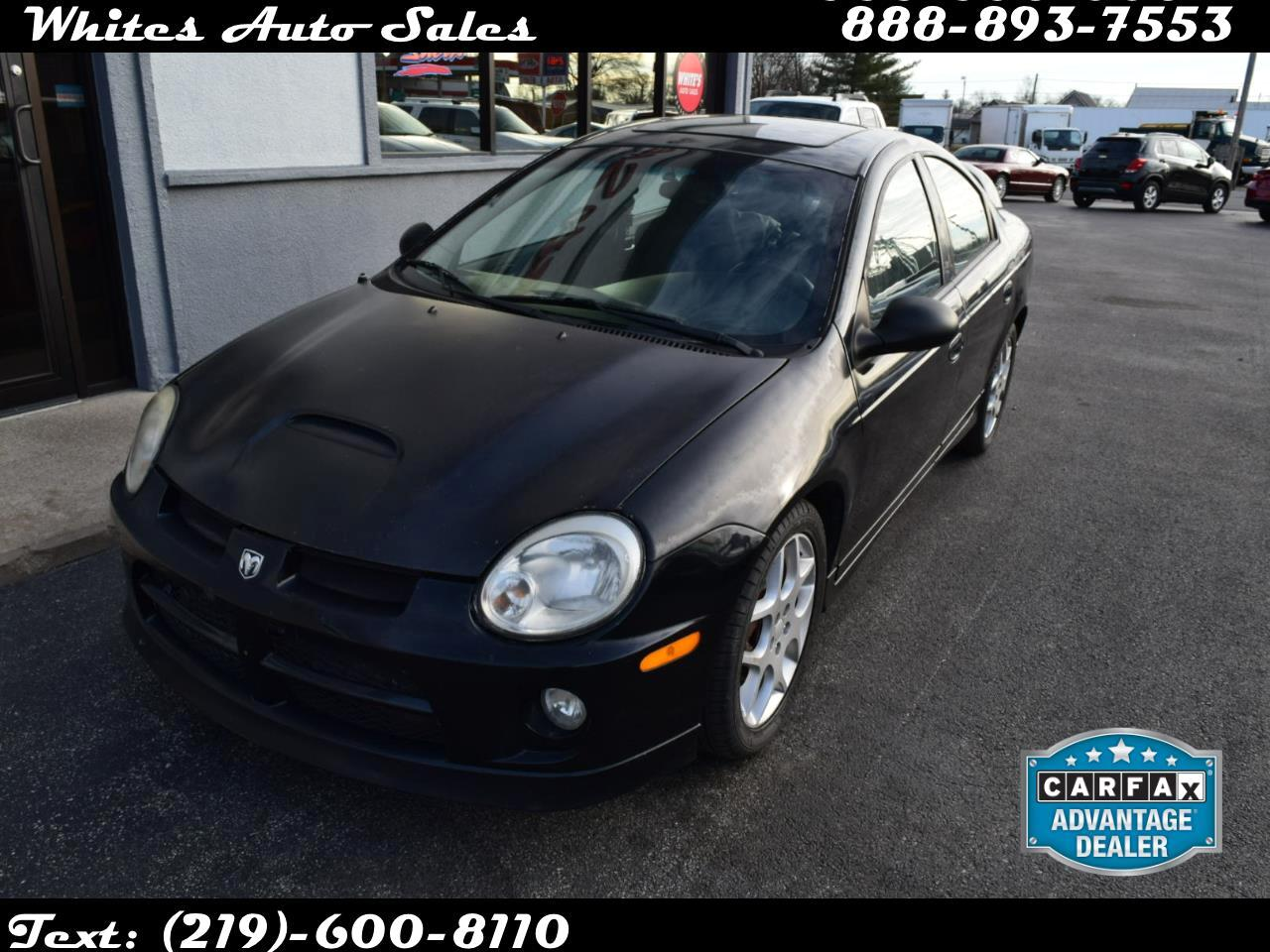 Dodge SRT-4 4dr Sdn SRT4 2004