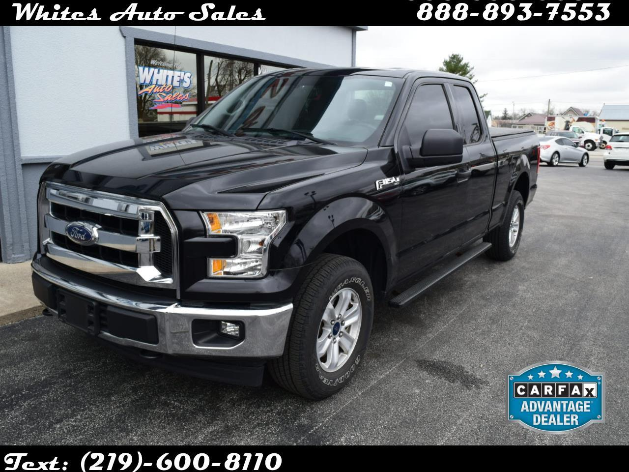 Ford F-150 XLT 4WD SuperCab 6.5' Box 2017
