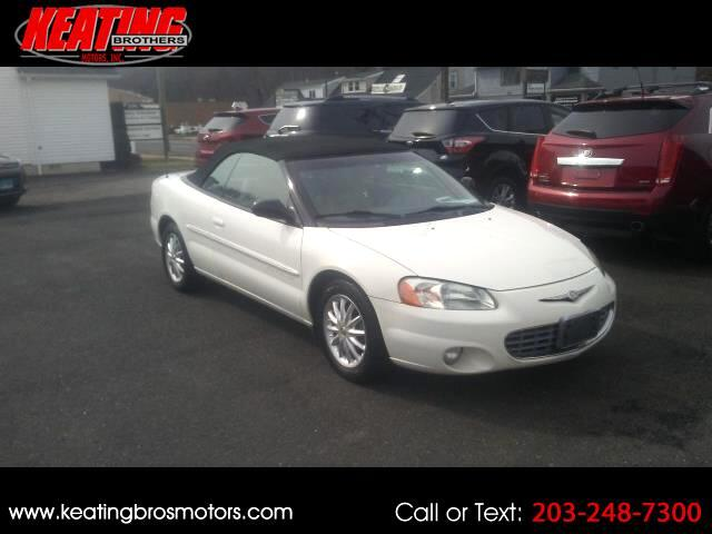 2001 Chrysler Sebring LXi Convertible