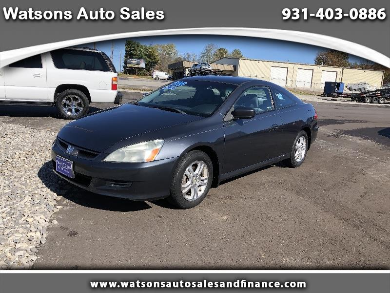 2007 Honda Accord LX coupe