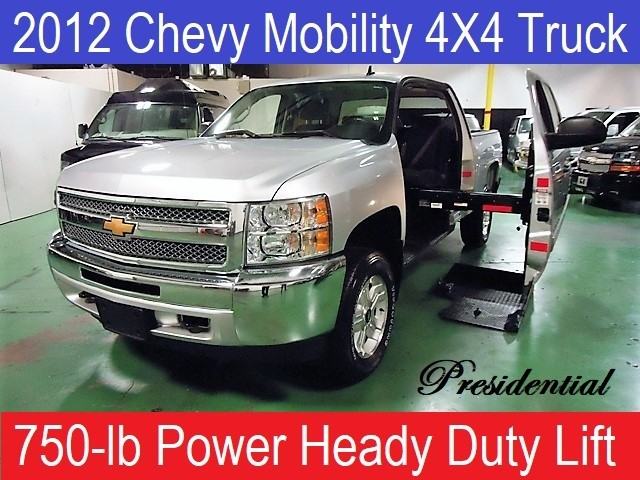 2012 Chevrolet Conversion Van z-71 Presidential Wheelchair Mobility Conversion T