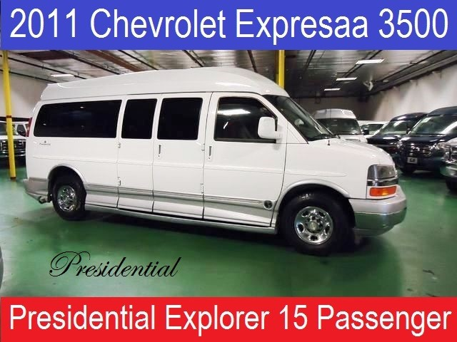 2011 Chevrolet Conversion Van 15 Passenger Presidential Explorer