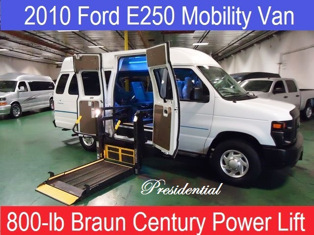 2010 Ford E-150 PRESIDENTIAL WHEELCHAIR MOBILITY VAN