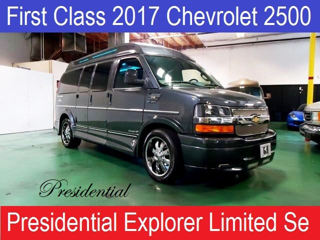 2017 Chevrolet Conversion Van Presidential Explorer Limited Se