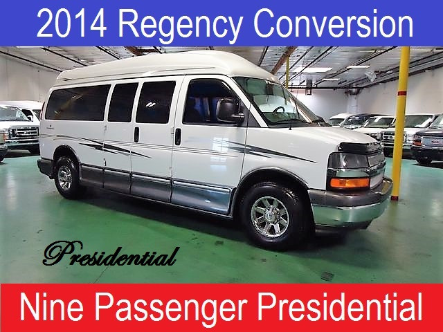 2014 Chevrolet Conversion Van Regency Presidential