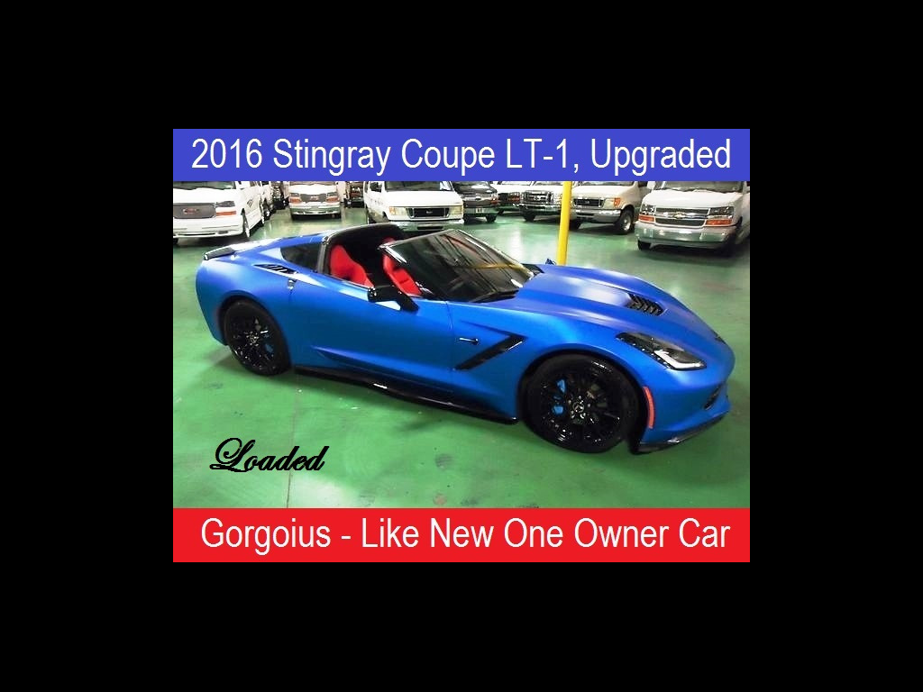 2016 Chevrolet Corvette Stingray Upgraded LT1