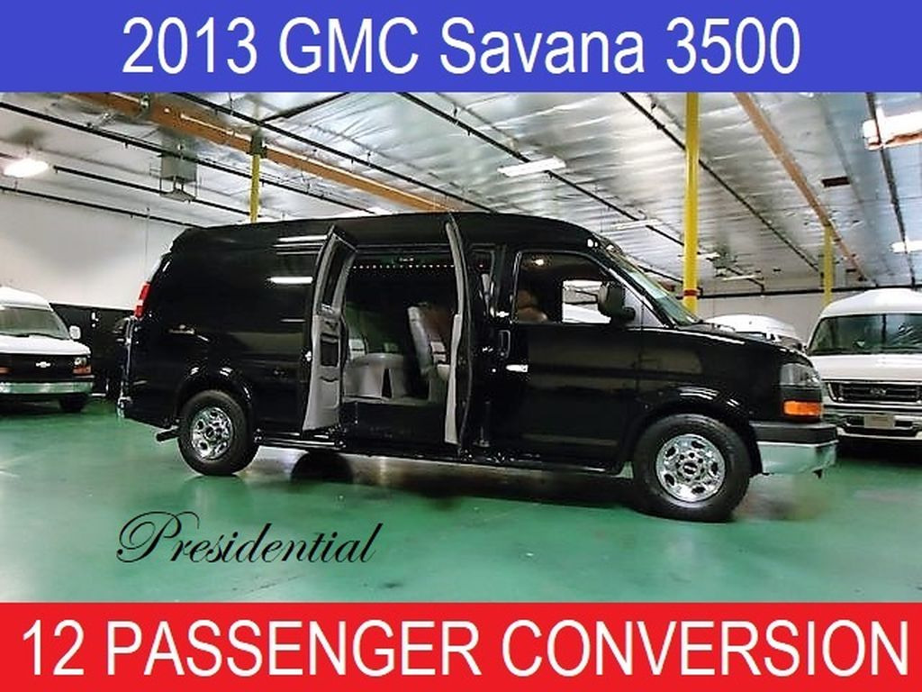 2013 GMC Conversion Van Presidential 12 Passenger Conversion