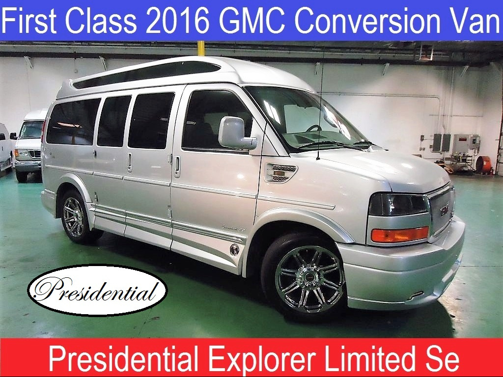 2016 GMC Conversion Van Presidential Explorer Limited Se Conversion Van