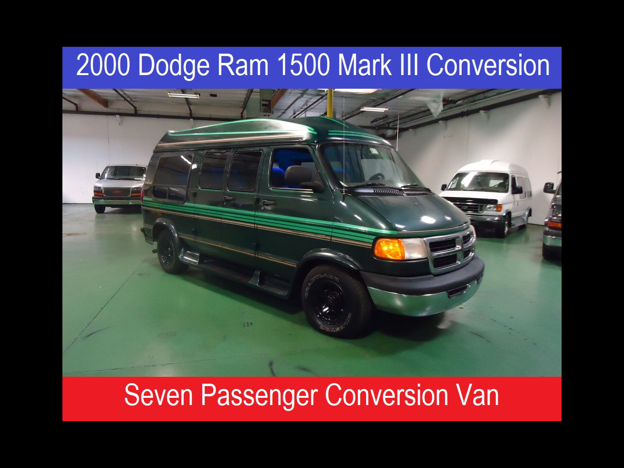 2000 Dodge Ram 1500 Presidential Mark III Conversion Van