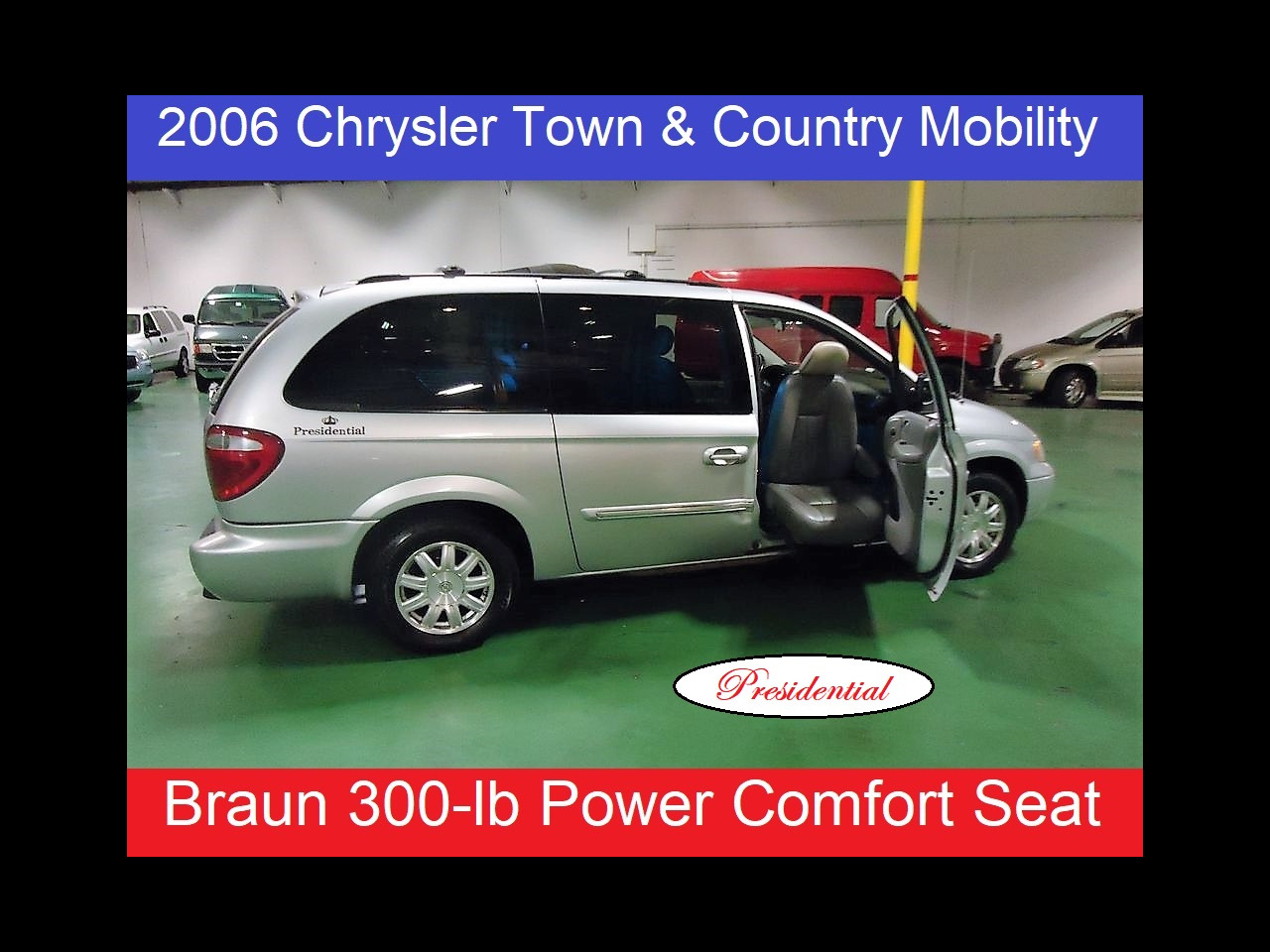 2006 Chrysler Town & Country LWB Presidential Handicap Mobility with Braum Comfort