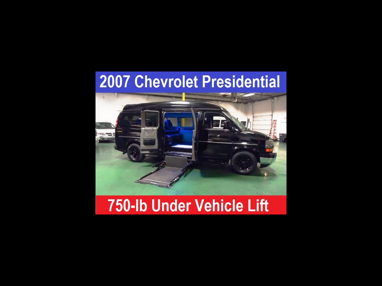 2007 Chevrolet 2500 Presidential Wheelchair Hadicap Mobility UVL Conve