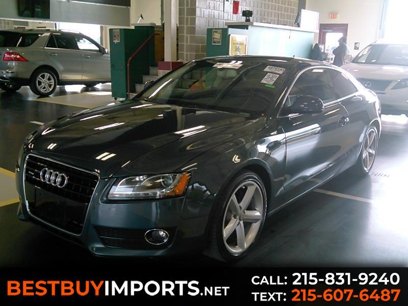 2009 Audi A5 2.0T Premium Coupe quattro Manual