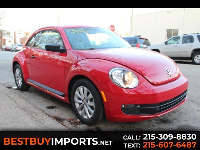 2016 Volkswagen Beetle 1.8T PZEV 6A Fleet