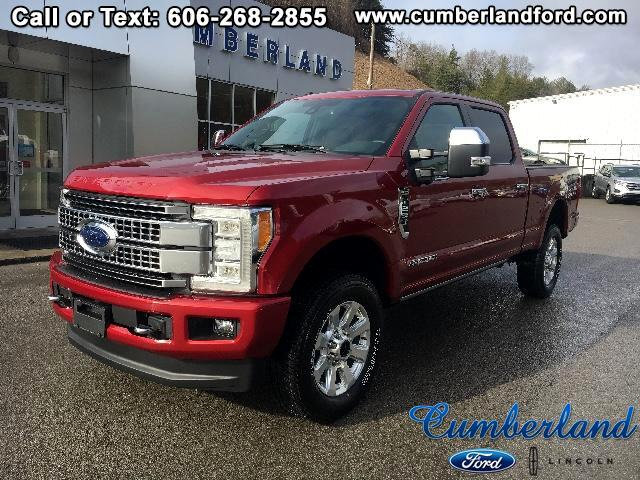 2018 Ford F-250 SD Platinum