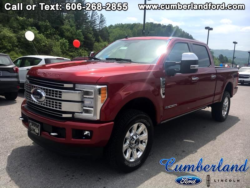 2019 Ford F-250 SD Crew Cab Platinum