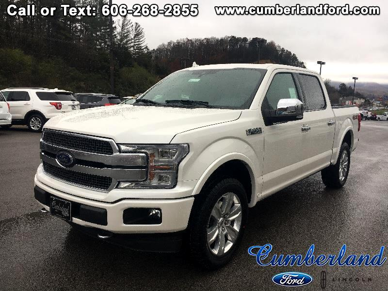 "2018 Ford F-150 4WD SuperCrew 145"" Platinum"
