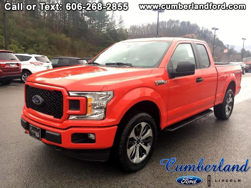 "2019 Ford F-150 4WD SuperCab 145"" STX"
