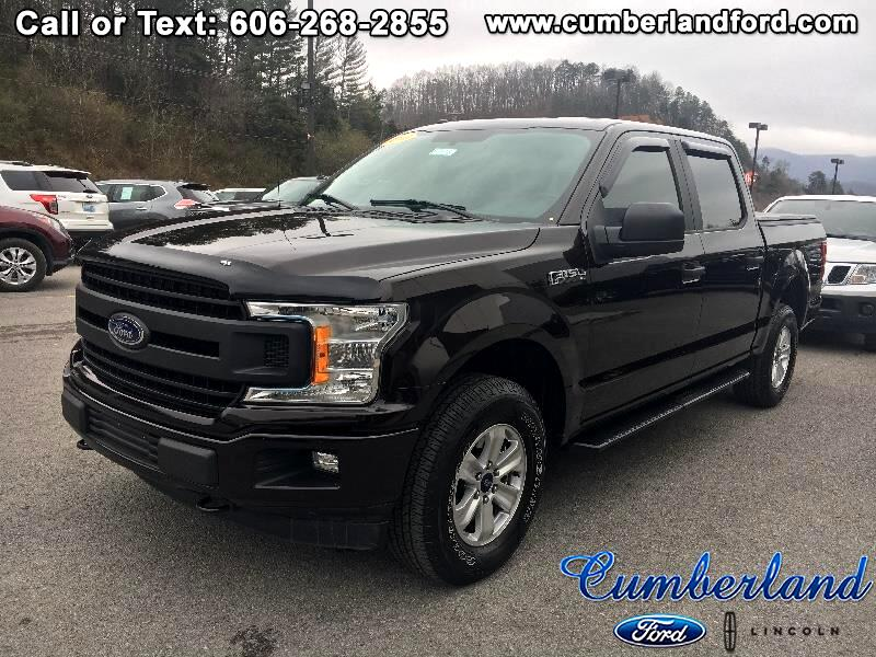 2018 Ford F-150 XL SuperCrew Short Bed 4WD