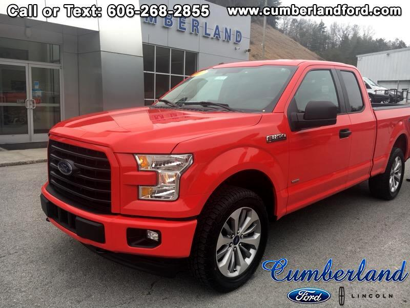 2017 Ford F-150 STX SuperCab 6.5-ft. Bed 4WD