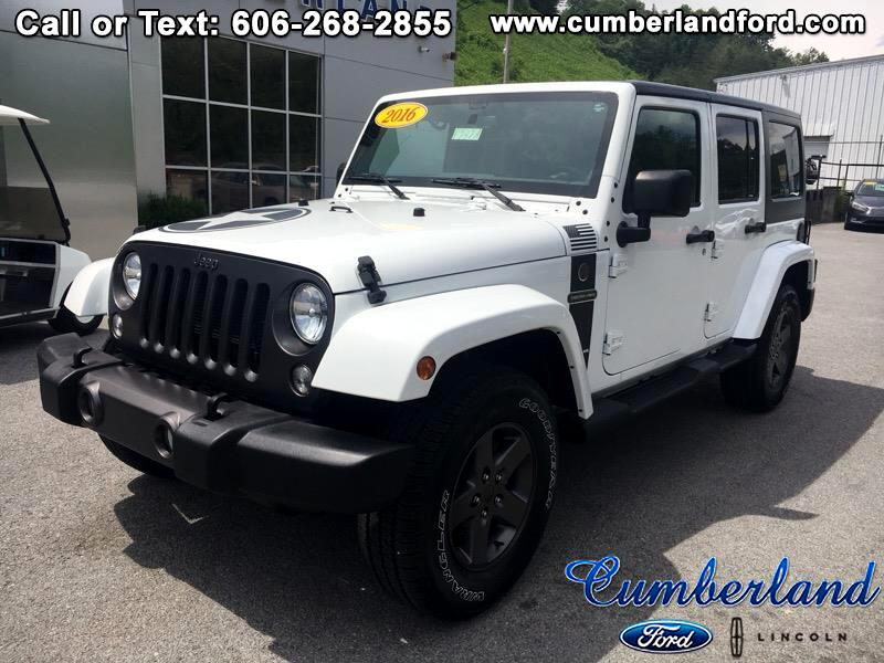 2016 Jeep Wrangler Unlimited Freedon Edition