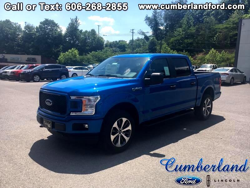 2019 Ford F-150 STX Crew Cab Short Bed 4x4