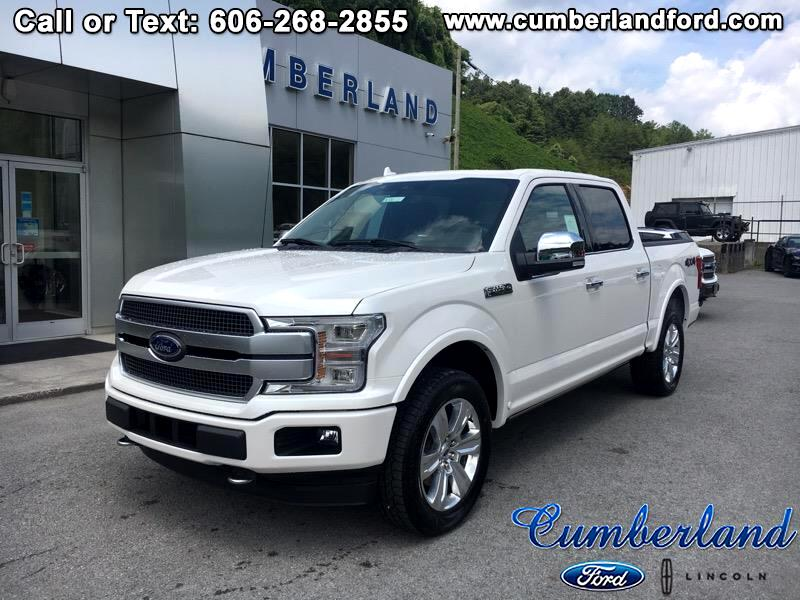 "2019 Ford F-150 4WD SuperCrew 145"" Platinum"