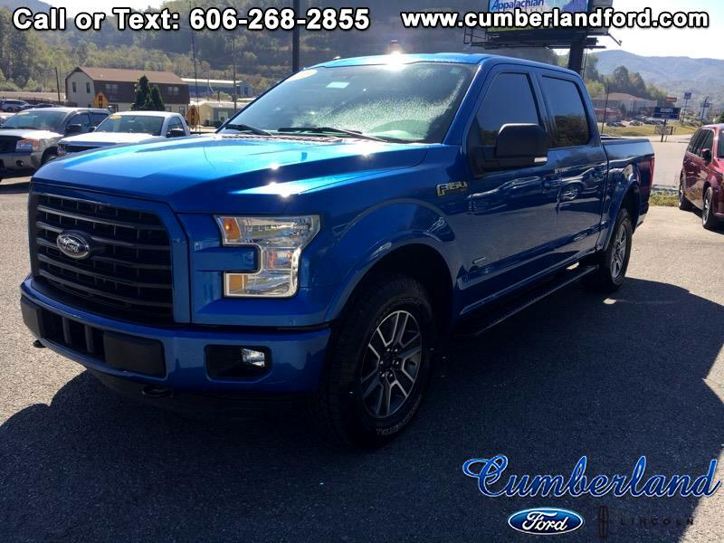 2015 Ford F-150 Crew Cab Short bed XLT 4x4