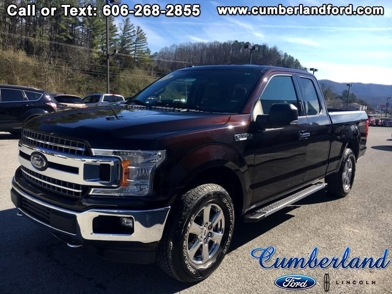 "Ford F-150 4WD SuperCab 145"" XLT 2018"