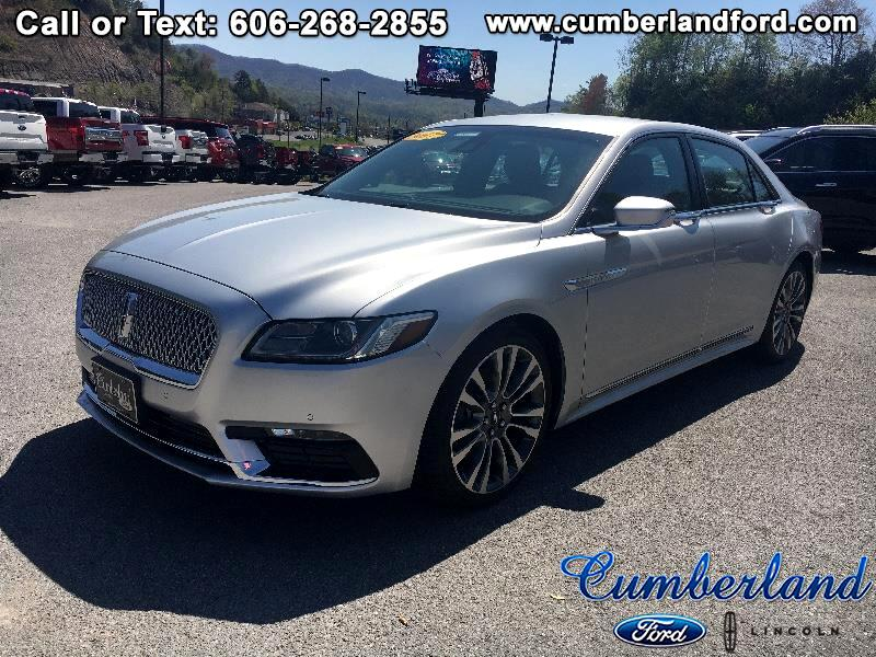 Lincoln Continental Select AWD 2017