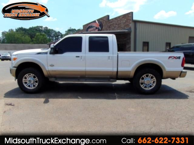 2012 Ford F-250 SD King Ranch Crew Cab 4WD