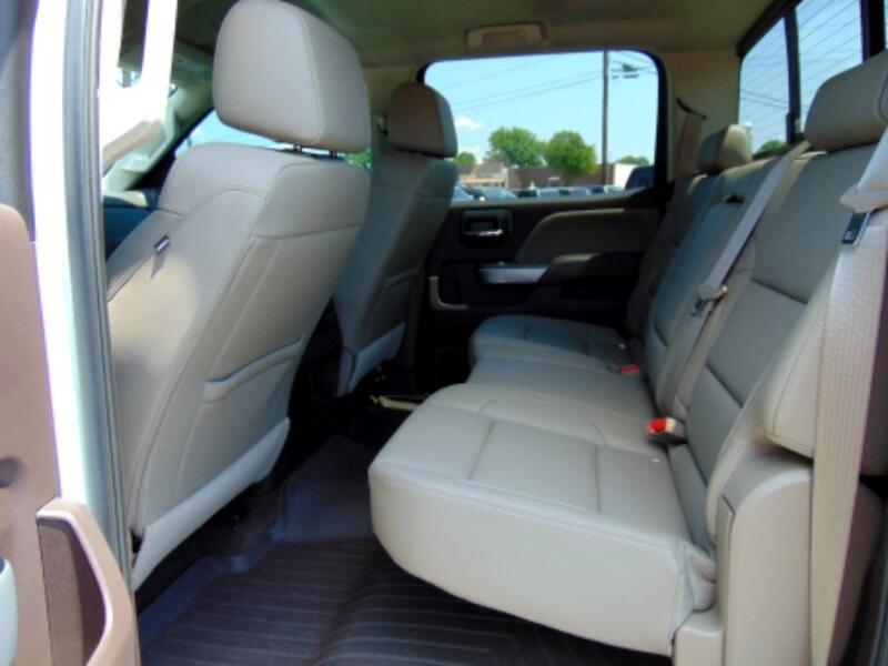 2016 Chevrolet Silverado 2500HD LTZ Crew Cab 4WD