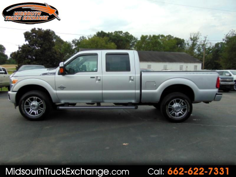 2016 Ford F-350 SD Platinum Crew Cab Short Bed 4WD
