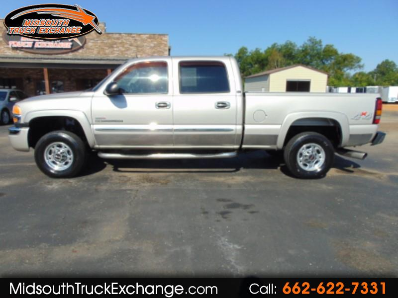 GMC Sierra 2500HD SLT Crew Cab Short Bed 4WD 2004
