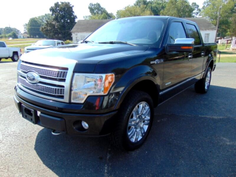 2011 Ford F-150 Platinum SuperCrew 5.5-ft. Bed 4WD