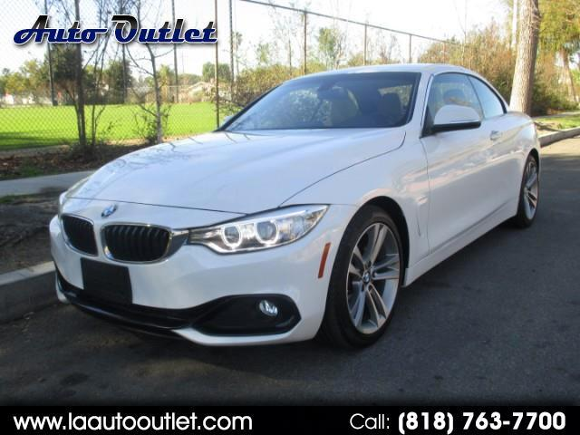 2016 BMW 4-Series 428i SULEV Convertible