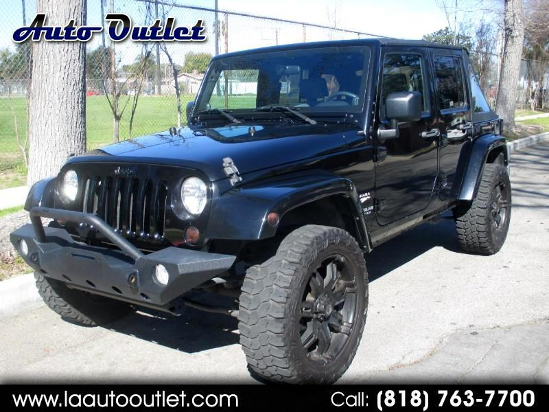 2010 Jeep Wrangler Unlimited Sahara 2WD