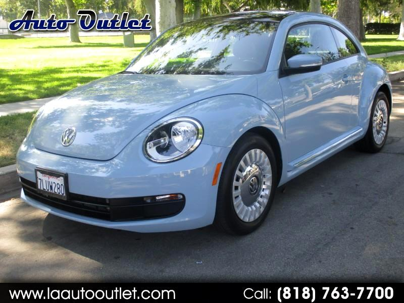 2015 Volkswagen Beetle 1.8T PZEV 6A