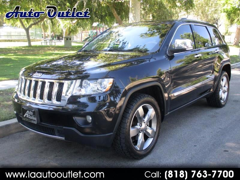 2013 Jeep Grand Cherokee Overland 2WD