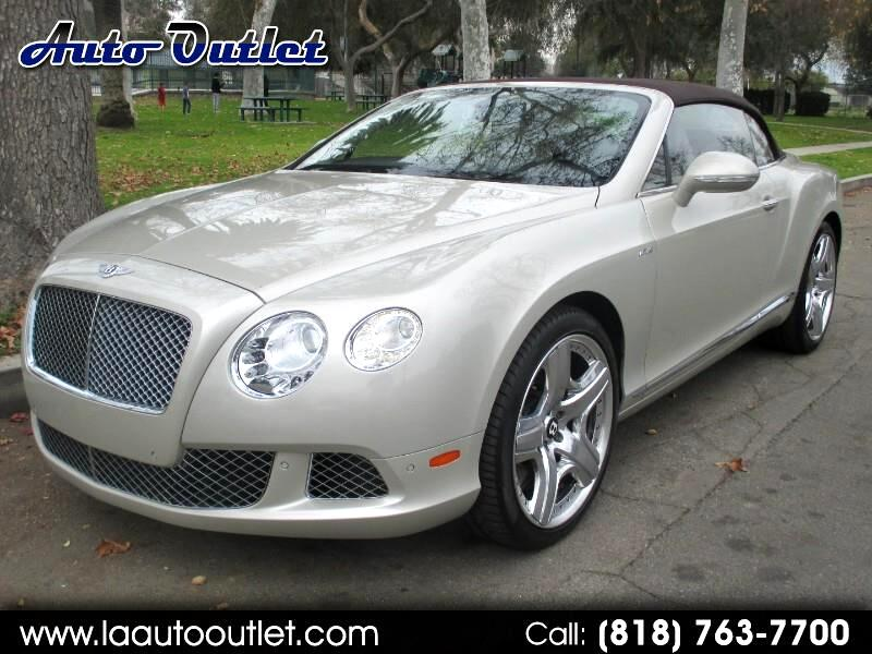 Bentley Continental GTC Convertible 2013