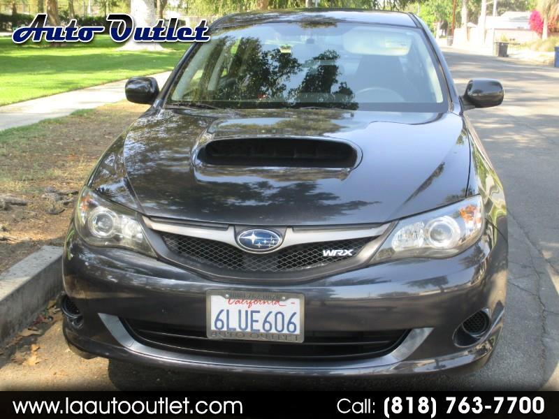 Subaru Impreza WRX 4-Door 2010