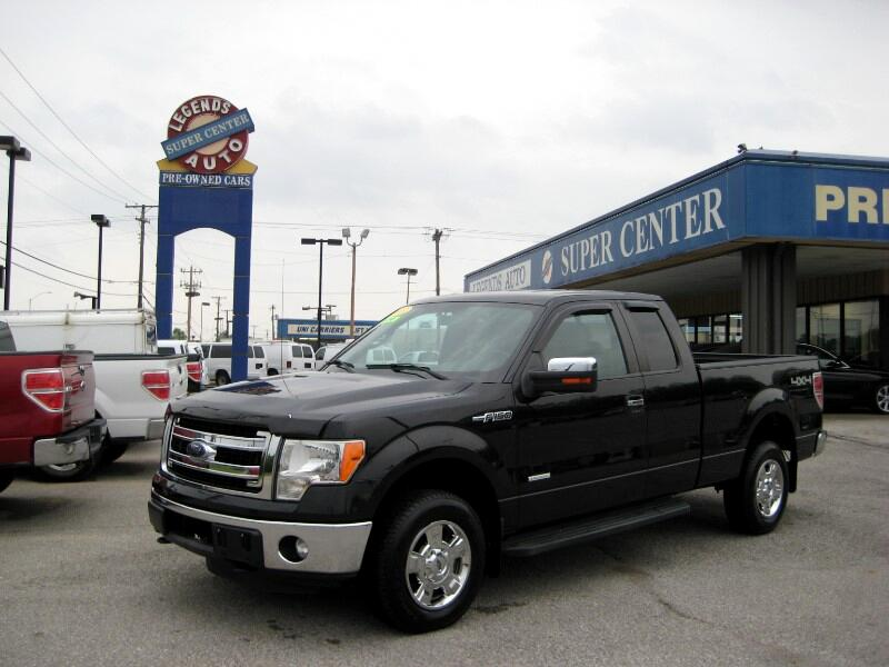 2013 Ford F-150 XLT SuperCab Short Bed 4WD