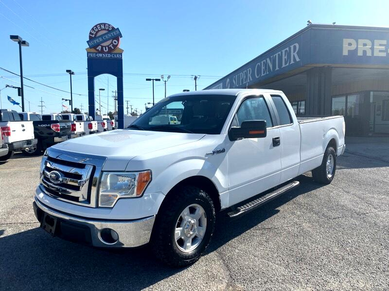 "Ford F-150 2WD SuperCab 145"" XL 2012"