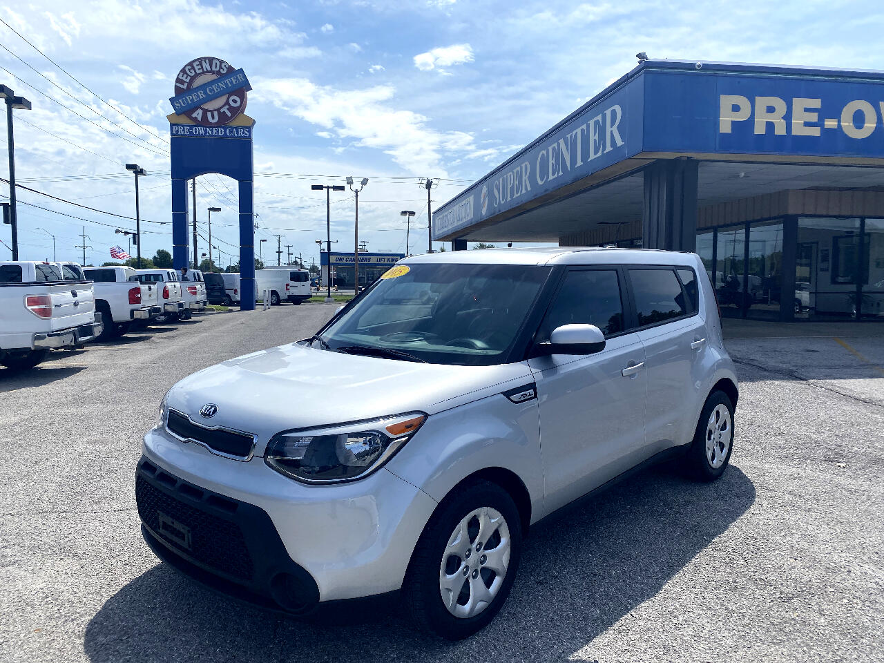 Kia Soul 5dr Wgn Man Base 2015