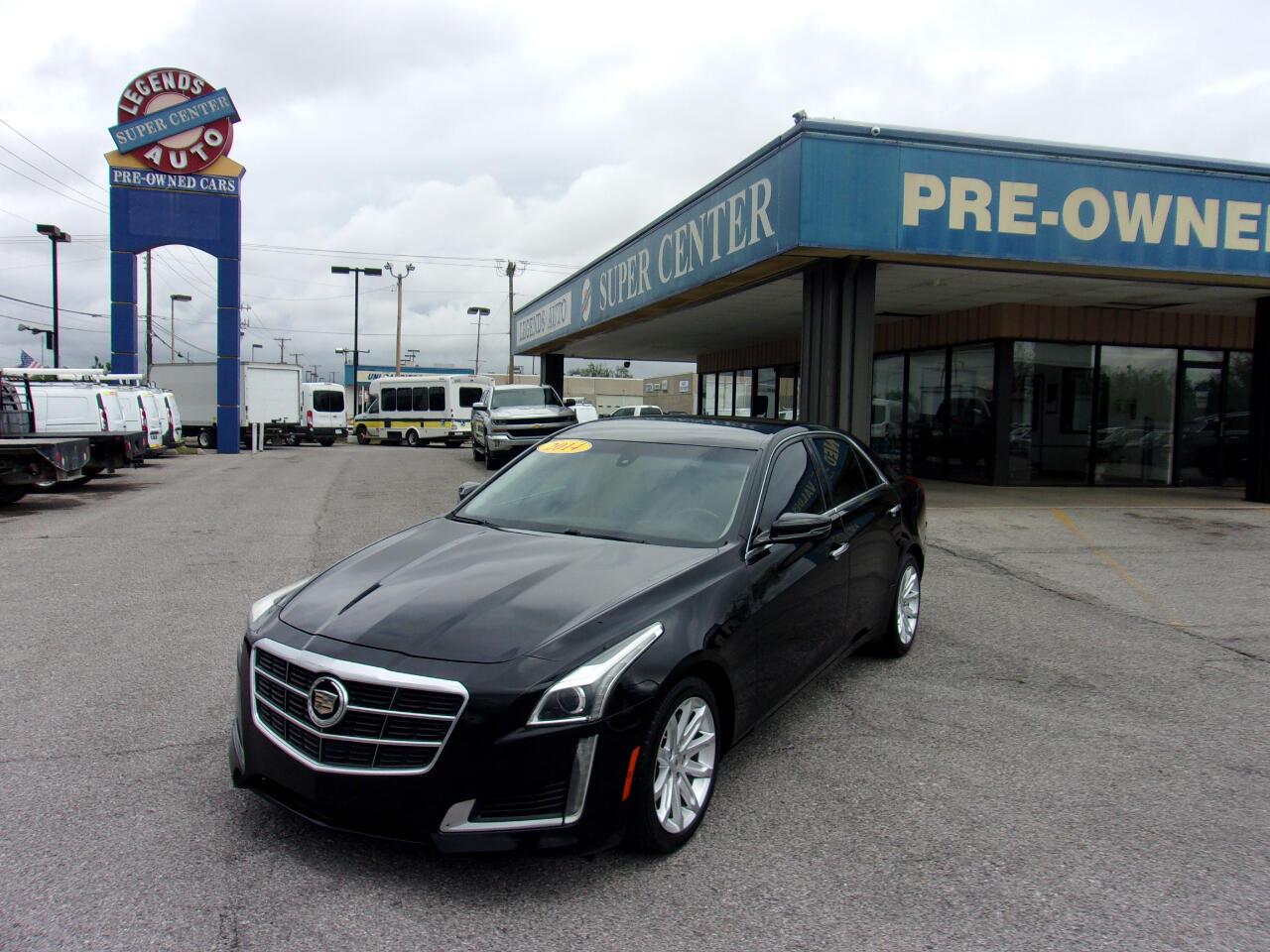 Cadillac CTS Sedan 4dr Sdn 2.0L Turbo RWD 2014