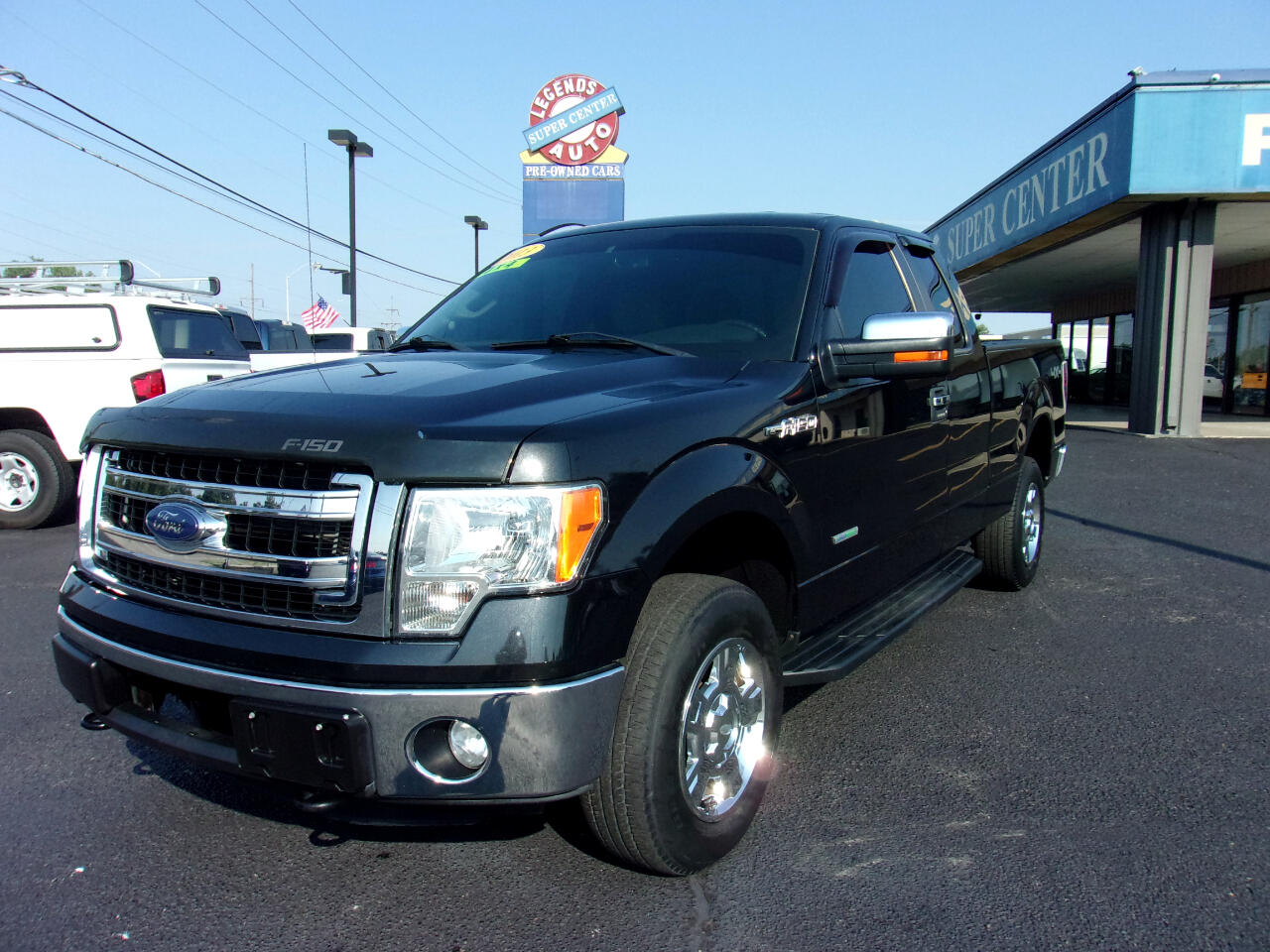 """Ford F-150 4WD SuperCab 145"""" Lariat 2013"""