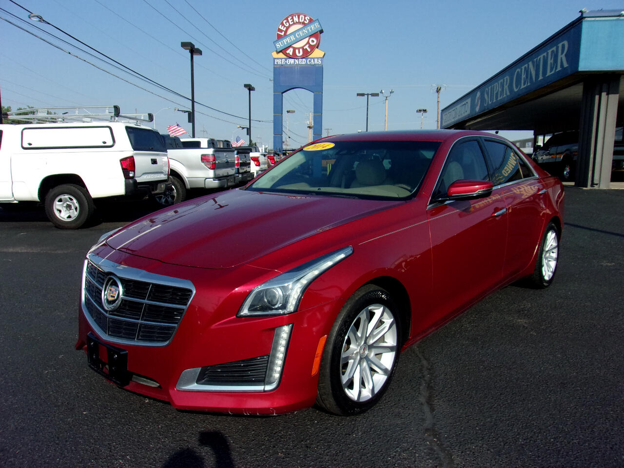 Cadillac CTS Sedan 4dr Sdn 3.6L Luxury RWD 2014