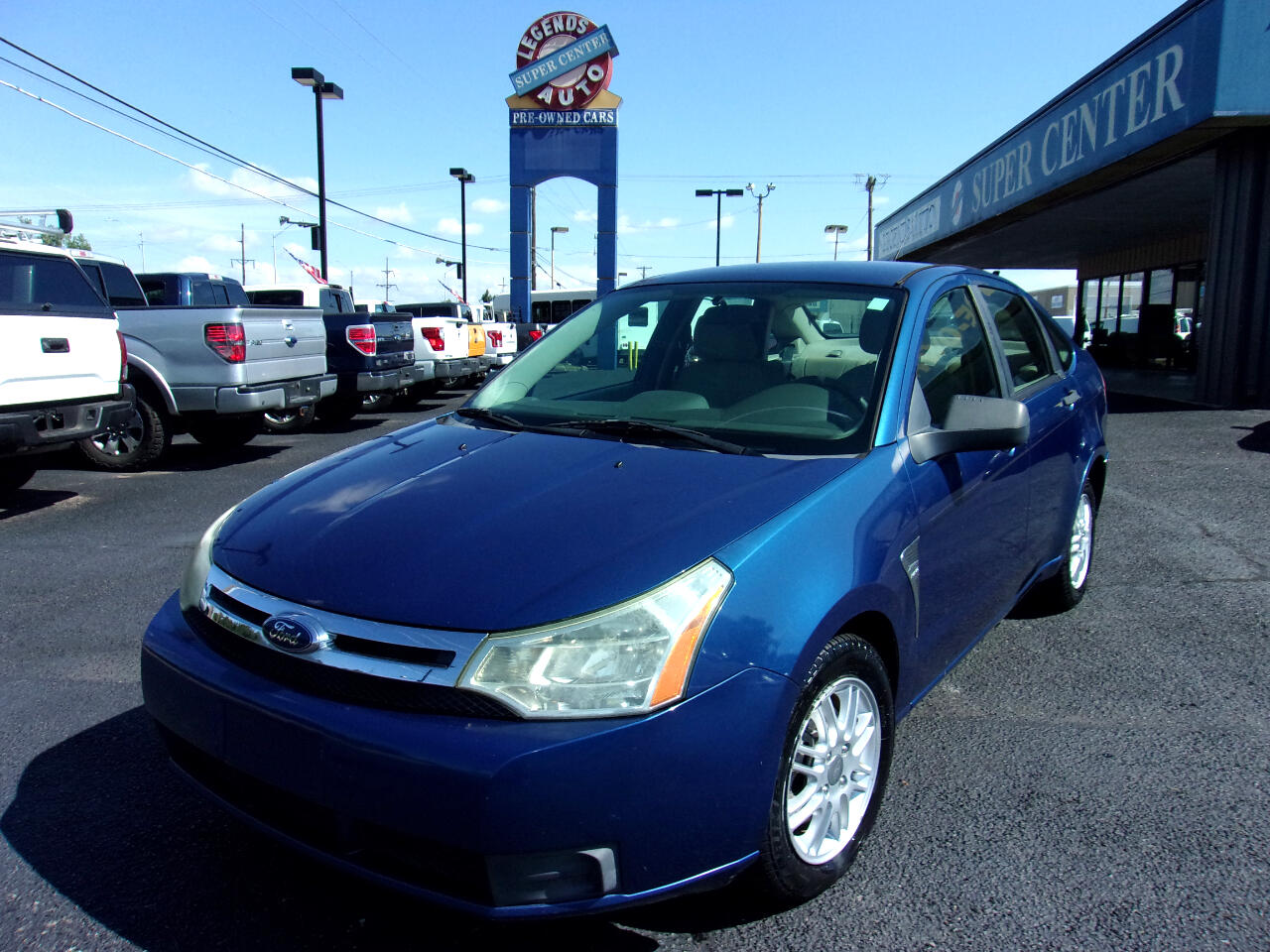 Ford Focus 4dr Sdn SES 2008